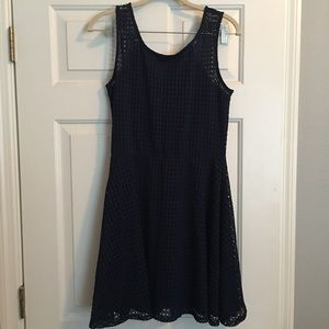 Love, Ady Eyelet Fit and Flare Dress